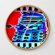 Dalek; Doctor Who; Exterminate Wall Clock