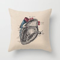 My Heart Beats for You Throw Pillow