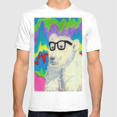 Colorful thinking SMALL White Mens Fitted Tee