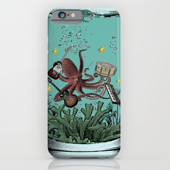 Musical Octopus Print iPhone & iPod Case