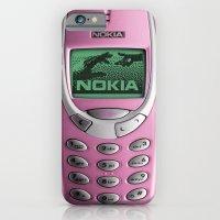 OLD NOKIA Pink iPhone 6 Slim Case