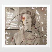 LOVE POEM Art Print