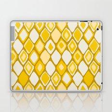 Almas diamond ikat gold Laptop & iPad Skin