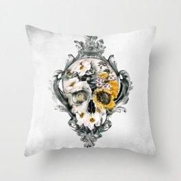 Throw Pillow - Skull Still Life - RIZA PEKER