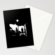 The Exorcist movie poster parody of Doctor Who 10th Stationery Cards