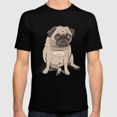 Fat Pug Mens Fitted Tee Black SMALL