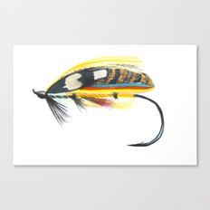 Salmon Fly Canvas Print