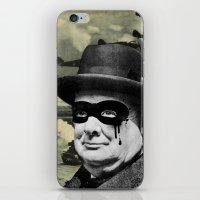 Churchill iPhone & iPod Skin