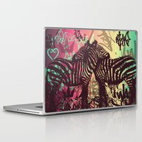 zebra Laptop & iPad Skins featuring ZEBRA by Nechifor Ionut