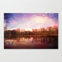 Catawba River Canvas Print