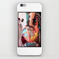iPhone & iPod Skin featuring The Getaway by Rudy Faber