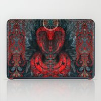 Seen Through Flames and Ashes iPad Case