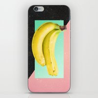 Eat Banana iPhone & iPod Skin