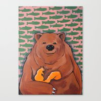 The Bachelor (BEAR) Canvas Print