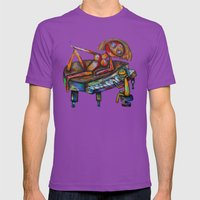 Every Morning Jack Plays… Mens Fitted Tee Ultraviolet SMALL