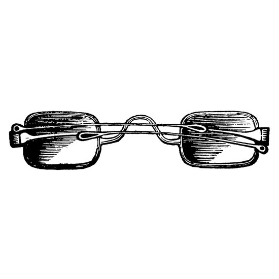 Vintage Glasses Art Print