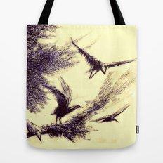 gecenin kanatları Tote Bag