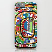 iPhone & iPod Case featuring Planet of all good people by Rudolf Brancovsky