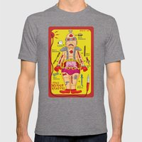 Krang's Weapon Removal Mens Fitted Tee Tri-Grey SMALL