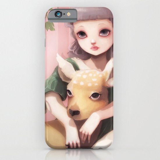 My dear lady deer... iPhone & iPod Case