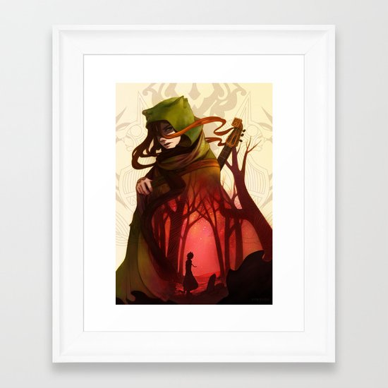 lamento Framed Art Print