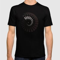 Little Universe Mandala Mens Fitted Tee Black SMALL