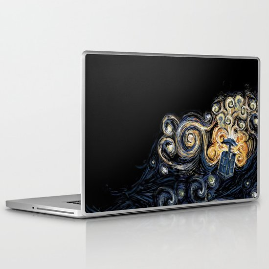 Doctor Who Van Gough Laptop & iPad Skin