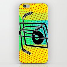 Noodle (yellow) iPhone & iPod Skin
