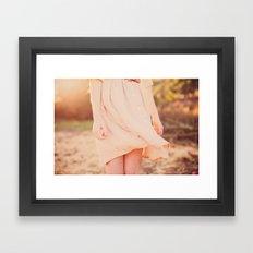 Twirl Framed Art Print