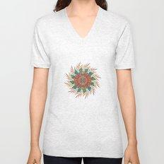 Palm Leaves Mandala Unisex V-Neck
