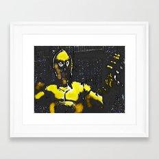 CP3O BY Cd KIRVEN Framed Art Print