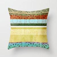 Textile - Green Throw Pillow