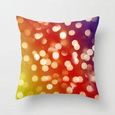 Lights & Gradients VII Throw Pillow