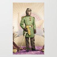 General Simian of the Glorious Banana Republic Rug