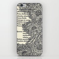 Vintage Book Botanical iPhone & iPod Skin