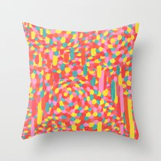 Disease 11. Hand drawing. Throw Pillow