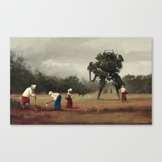 1920 - harvest Canvas Print