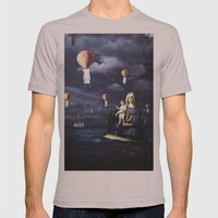 Madonna with Child (on the high sea)  Mens Fitted Tee Cinder SMALL