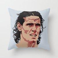 Edinson Cavani Throw Pillow