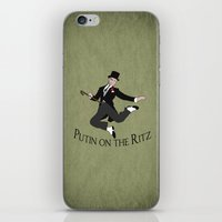 Putin on the Ritz iPhone & iPod Skin