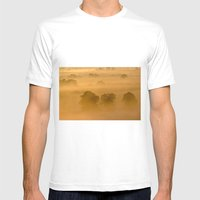 Gold in the Hedgerows Mens Fitted Tee White SMALL