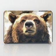iPad Case featuring Wild Bear by Regan's World