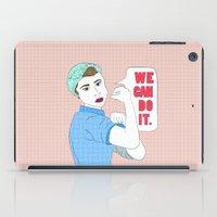 Rosie the Riveter iPad Case