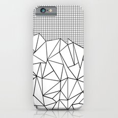 Abstract Outline Grid Bl… iPhone 6 Slim Case
