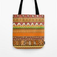 Yzor Pattern 012 Rich Su… Tote Bag