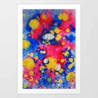 Colour Mix I Art Print