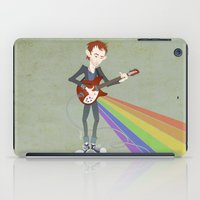Radiohead Thom in Rainbows iPad Case