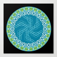 Mandala 23 - 2014 Limited Reproduction Products Canvas Print