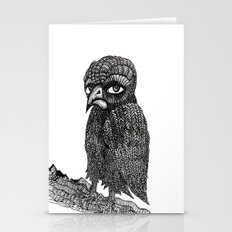 Morbid bird Stationery Cards