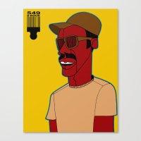 1001 Black Men--#549 Canvas Print